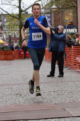 Fabian Könning verbesserte seine persönliche Bestzeit innerhalb eines Jahres um satte 10 Minuten.