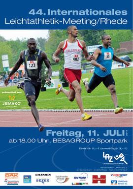 LAZ-Meeting heißt: Internationale Spitzenleichtathletik, familiäres Ambiente und moderate Preise.