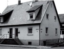 Schmidstraße 15, von hier musste Anna Frank im Oktober 1941 ins Getto Haag in Haigerloch, aus WERNER 1998, S. 52