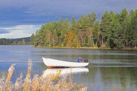 Angelurlaub in Lappland