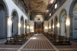 Borgo Pinti - interno della chiesa