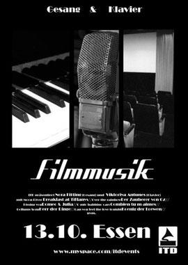 Filmmusikplakat (Filmbar der Lichtburg Essen)