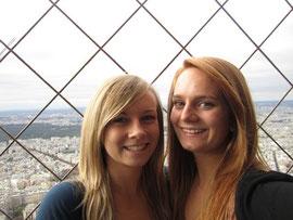Oben auf dem Eiffelturm