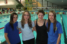 BSC-Gruppenbild  (v. l. n. r.: Charlotta Radtke, Chantal Kasch, Josephine Noack, Lina Hartwig)