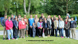 Das Teilnehmerfeld am 02.06.2013