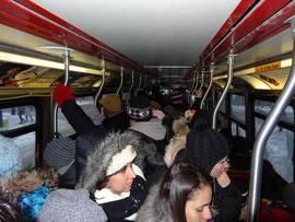 In Toronto unterwegs: Gruppenerlebnis Strassenbahn.