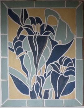 Blumenmosaik