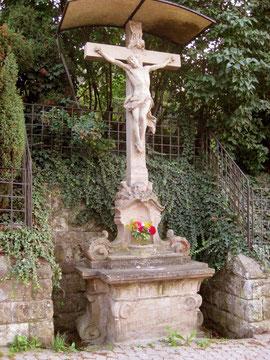 Wertvolles Barockkreuz 1764