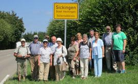 Sommerausflug nach Sickingen 2012