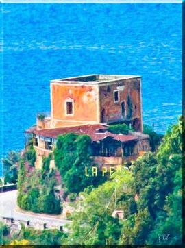 """Costa d'Amalfi - Rudere del ristorante """"La Pergola"""""""