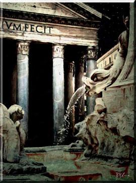 Roma - Il Pantheon di notte