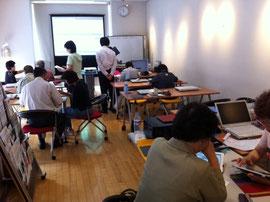 iPadワンコイン相談室 「ニツパチ(2月8月)」の影響か? 暑さのせいか? 受講者7名講師6名