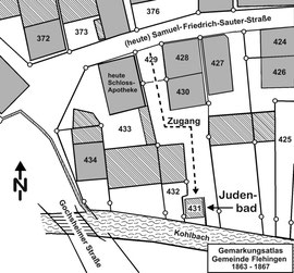 Lageplan (Copyright by Wolfgang Schönfeld)