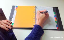 escribir, ideas, pensamientos, organizar, www.aorganizarte.com