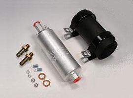Walbro GSL392 255lph 550hp Inline Fuel Pump