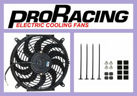 Radiator Fan / Electric Cooling Fan + Mounting Kit