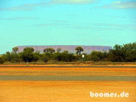 Nein - nicht der Uluru - der Mt. Connor