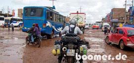 Verkehrschaos in Juliaca