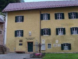 Der Komponist Franz Xaver Gruber (1787-1863): sein Wohnhaus in Hallein bei Salzburg