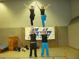 Kevin mit Maxi und Tobias mit Yvonne