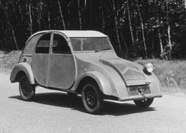première 2cv Citroën