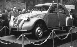 2 cv Citroën 1948