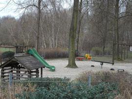 Der Spielplatz im Park