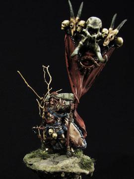 Tundaar Skull Bearer Of Baalorr by Pete Domm