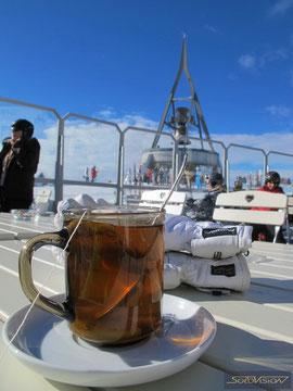 Горячий чай на высоте 2275м