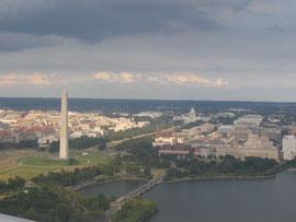 Пролетая над Вашингтоном...