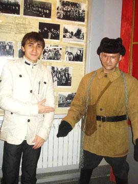 Одежда, в которой работали заключенные на стройке в Салавате (Салаватский кр. музей)