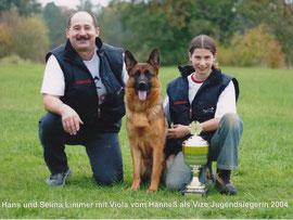 Jugend-Vize Siegerin Viola vom Hanneß 2004