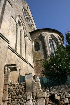 L'abside et le chevet