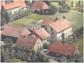 Luftaufnahme unseres Betriebes von 1958