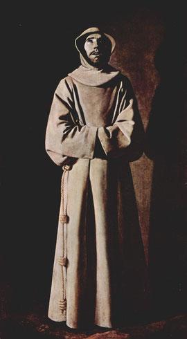 Zurbaran : Saint François d'Assise