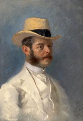 Le Baron Joseph Vitta par Jules Chéret (1908)