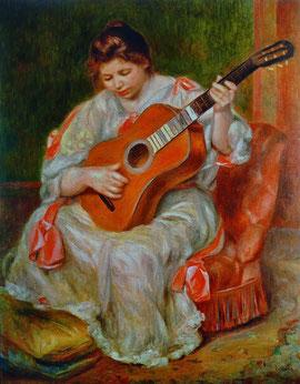 PA Renoir : la joueuse de guitare