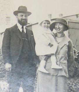 Benjamin Dreyfus, Suzanne Netter et leur fils Jacques