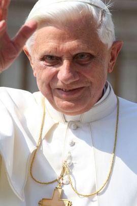 Papst Benedikt XVI. - Lizenz: http://bit.ly/x8KvzC