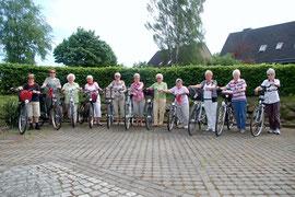 1.Fahrradtour 2012, Gymnastikgruppe 50 Plus
