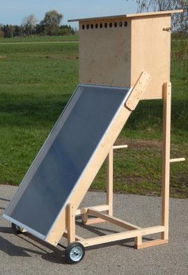 Solartrockner - Ansicht vorne