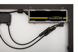 microinverter for a AC solar module