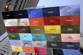Amplio surtido de colores