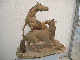 Schnitzerei Skulptur