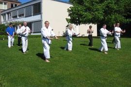 Qi-Gong-Übungen stehen auf dem Programm.