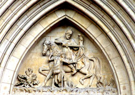 Eglise Saint-Martin- Tympan du centre