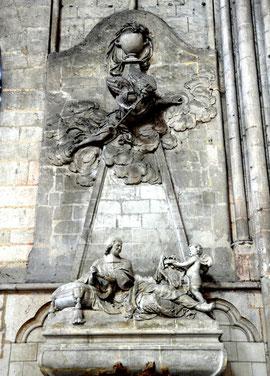 Tombeau de l'évêque Pierre Sabatier
