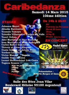 festival caribedanza argenteuil 2014