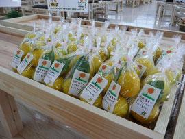 レモンの陳列