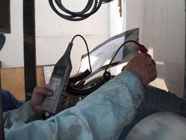 電動機振動測定